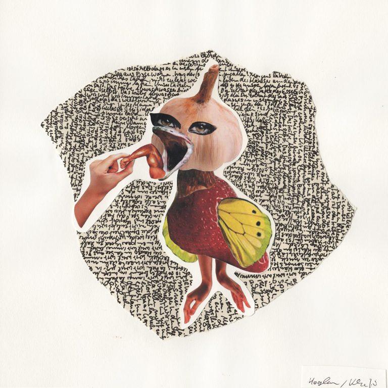 Knoblaucherdbeervogel - Wolfgang Hagedorn / Raouf Khanfir - 30 Quadrat - Diskonspekt - Wir essen alles