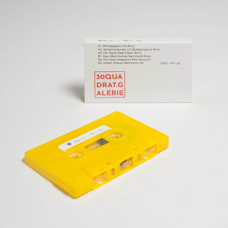 Klauen - Remixe Kassette - 30 Quadrat